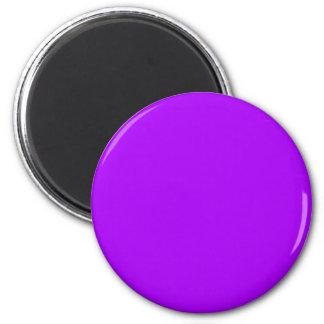 la púrpura brillante lo hace usted mismo plantilla imán para frigorifico