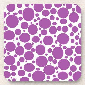 La púrpura burbujea los prácticos de costa posavaso
