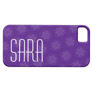 La púrpura conocida de encargo protagoniza G701 iPhone 5 Fundas