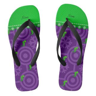 La púrpura conocida personalizada del lagarto