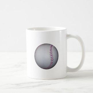 La púrpura cose béisbol/softball tazas de café