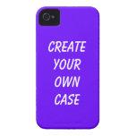 La púrpura crea su propio caso iPhone 4 Case-Mate carcasas