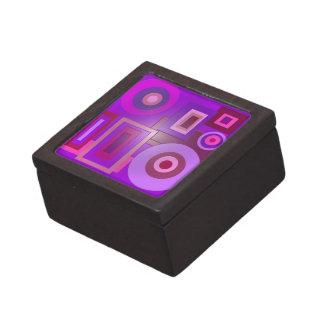 la púrpura de la MOD forma el anstract Cajas De Regalo De Calidad