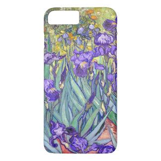 La púrpura de Vincent van Gogh irisa la bella arte Funda iPhone 7 Plus