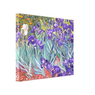 La púrpura de Vincent van Gogh irisa la bella arte Impresiones En Lona