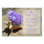 La púrpura del Seashell y del Hydrangea ahorra la