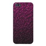 La púrpura descolorada vetea la caja del iPhone iPhone 5 Funda