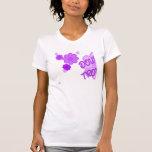 La púrpura doble del problema florece la parte 1 camisetas