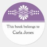 La púrpura este libro pertenece a las etiquetas
