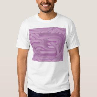 La púrpura Fingerpaint la diversión Playera