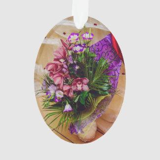 La púrpura florece el ramo