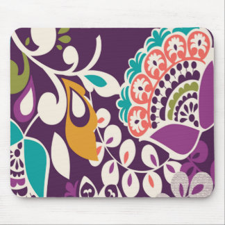 La púrpura florece Mousepad