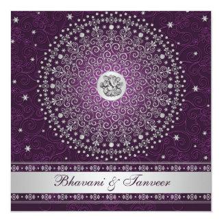 La púrpura hindú de Ganesh, el casarse de plata de Comunicado Personal