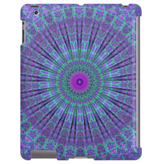 La púrpura inspira el caleidoscopio de la mandala