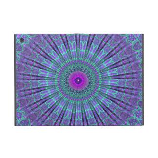 La púrpura inspira el caleidoscopio de la mandala iPad mini funda