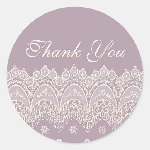 La púrpura le agradece los sellos del sobre del bo etiquetas