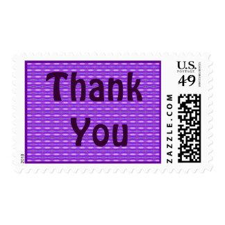 la púrpura le agradece sello