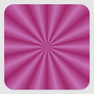 La púrpura plisa al pegatina
