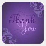 La púrpura púrpura noble de la voluta le agradece