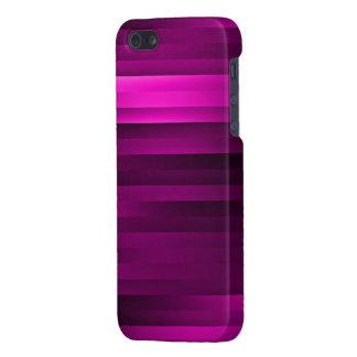 La púrpura raya la caja del iPhone 5 iPhone 5 Cobertura