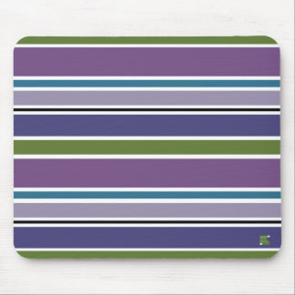 La púrpura raya Mousepad