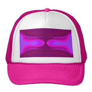 La púrpura rosada de las rosas fuertes soña Cricke Gorros Bordados