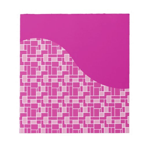 La púrpura rosada magenta teja los regalos del mod bloc