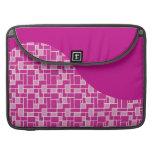 La púrpura rosada magenta teja los regalos del mod funda para macbook pro