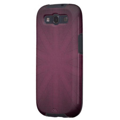 La púrpura se descolora galaxy SIII coberturas