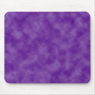 La púrpura se nubla la plantilla tapete de raton