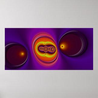 La púrpura Slurp Posters