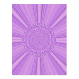 La púrpura violeta irradia el arte de Digitaces Tarjetas Postales