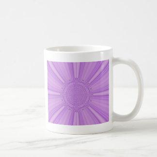 La púrpura violeta irradia el arte de Digitaces Taza