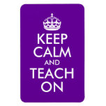 La púrpura y el blanco guardan calma y la enseñan  imanes rectangulares