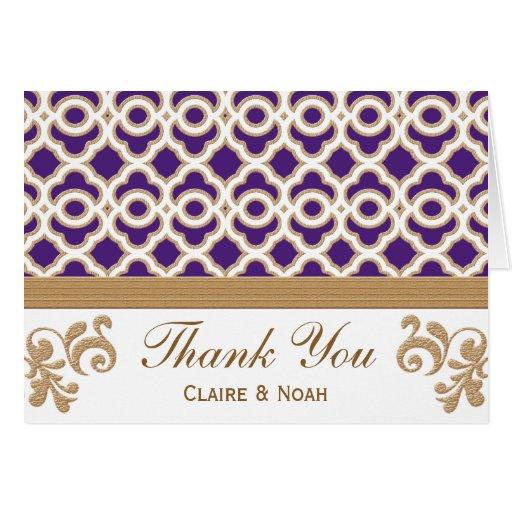 La púrpura y el marroquí del oro le agradecen invi felicitación