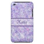 La púrpura y el rosa helaron la caja del tacto de  Case-Mate iPod touch cárcasas