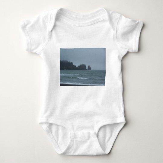 La Push Beach, WA Baby Bodysuit