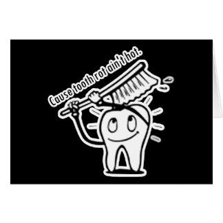 La putrefacción del diente no es caliente felicitaciones