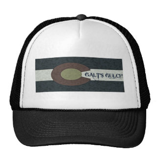 La quebrada de Galt - diseño combinado blanco y Gorros Bordados
