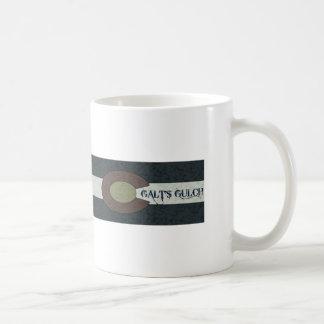 La quebrada de Galt - diseño combinado blanco y Taza Clásica
