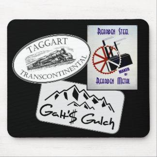 """La """"quebrada de Galt"""", """"Taggart Transco…"""", """"Rearde Tapete De Raton"""