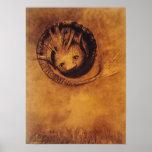 La quimera [Chimäre] por el Symbolist Odilon Redon Poster