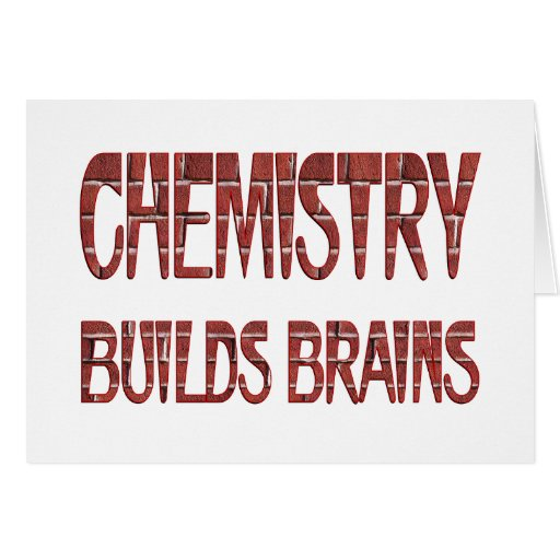 La química construye cerebros felicitaciones