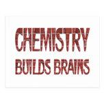 La química construye cerebros postal