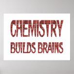 La química construye cerebros poster