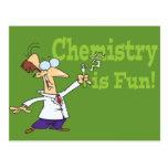 La química es diversión postal