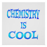 La química es fresca impresiones
