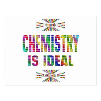 La química es ideal postales