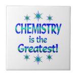 La química es la más grande azulejo ceramica