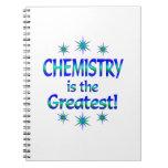 La química es la más grande cuaderno